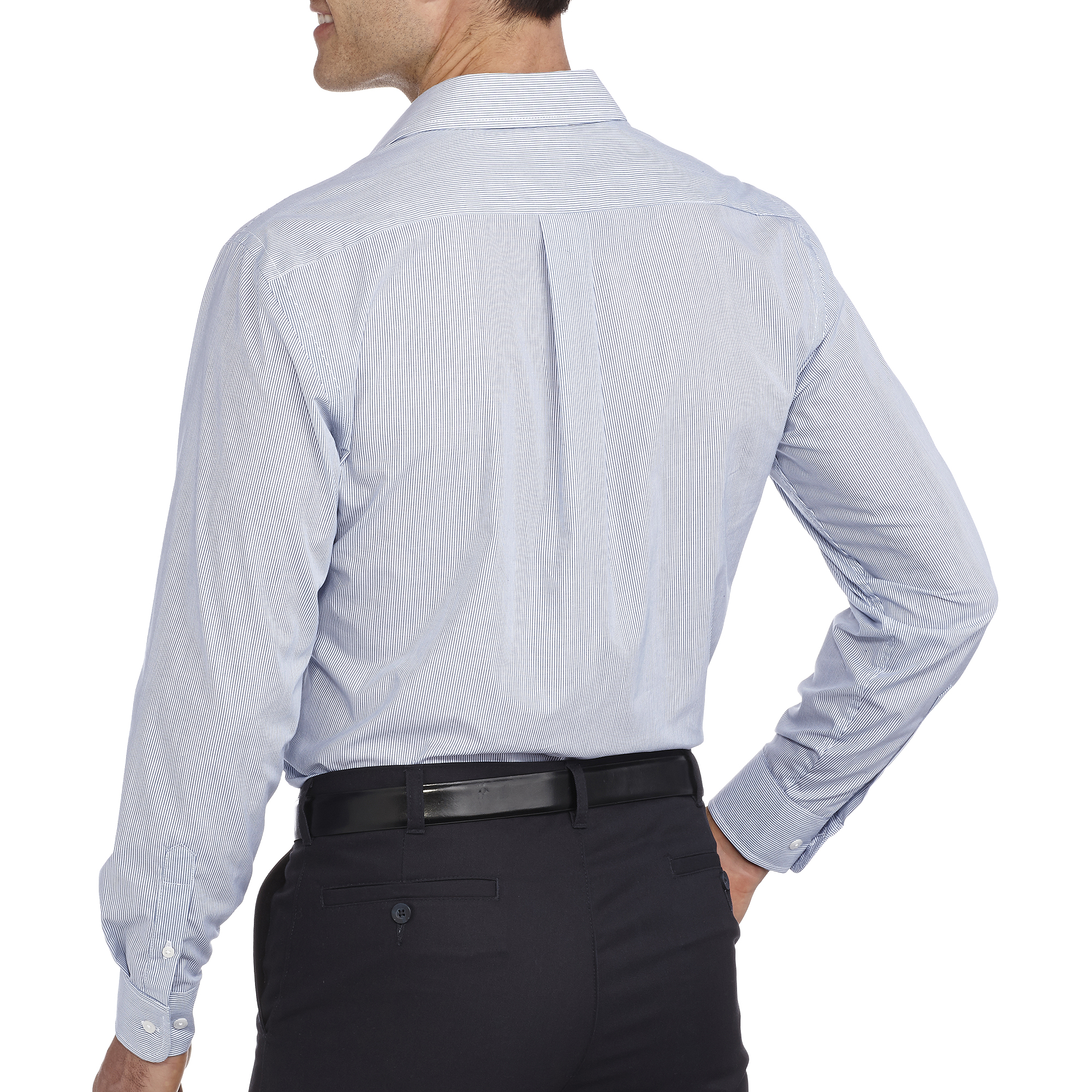 George Big Men's Long Sleeve Dress shirt