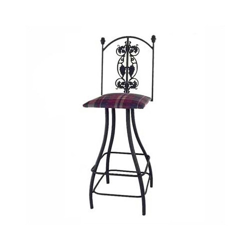 Grace Collection Grapes 24'' Swivel Bar Stool