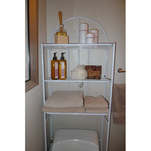 ATH Home Free Standing 23.2'' W x 69'' H Over the Toilet Storage