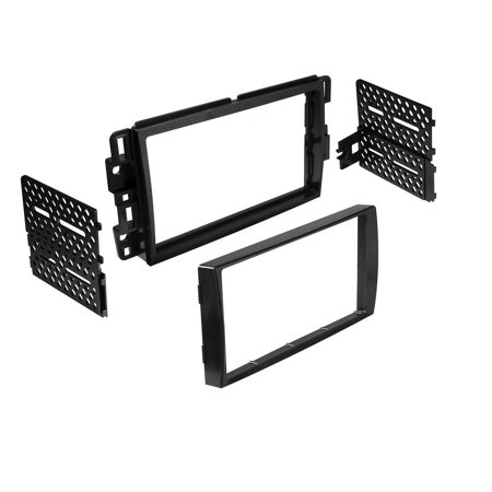 BKGMK318 Double DIN Installation Dash Kit for 2006-2013 Chevrolet Vehicles, Install dash kit for Double DIN/ISO Radios w/Navigation By Best (Best In Dash Navigation 2019)