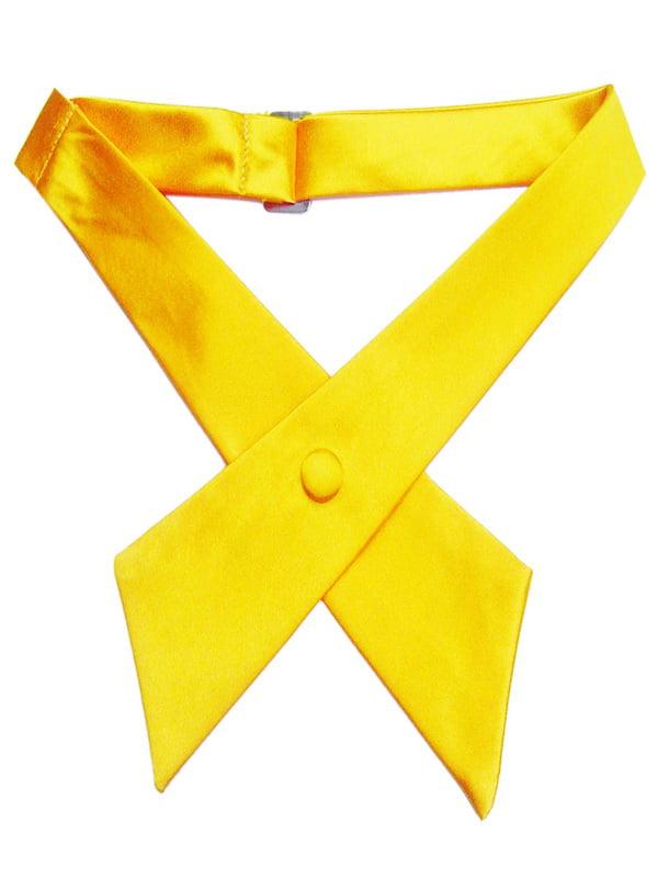 TopTie Criss-Cross Tie, Girls' School Uniform Cross Tie-Burgundy
