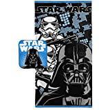 Star Wars Classic Darth Vader Bath Wash Cotton Towel Set