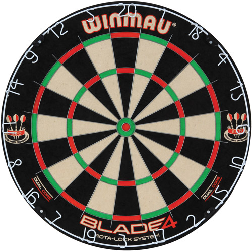 Blade 4 Dual-Core Bristle Dartboard