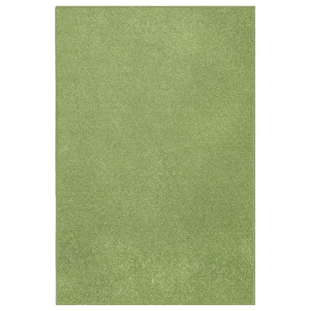 Ambiant Kids Solid Color Area Rugs Lime Green - 3'x5' Green Gold Area Rug