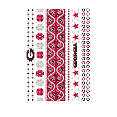 Georgia Bulldogs Jewelry Flash Tattoos - Georgia Bulldog Tattoos