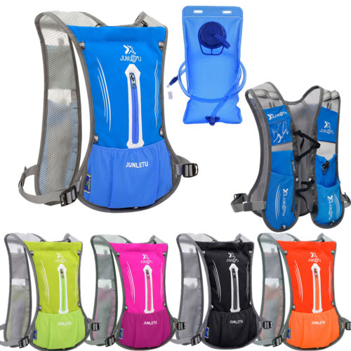 5L Outdoor Bicycle Bike Cycling Water Bladder Bag Hydration Backpack Hiking with 2L Water Bladder by
