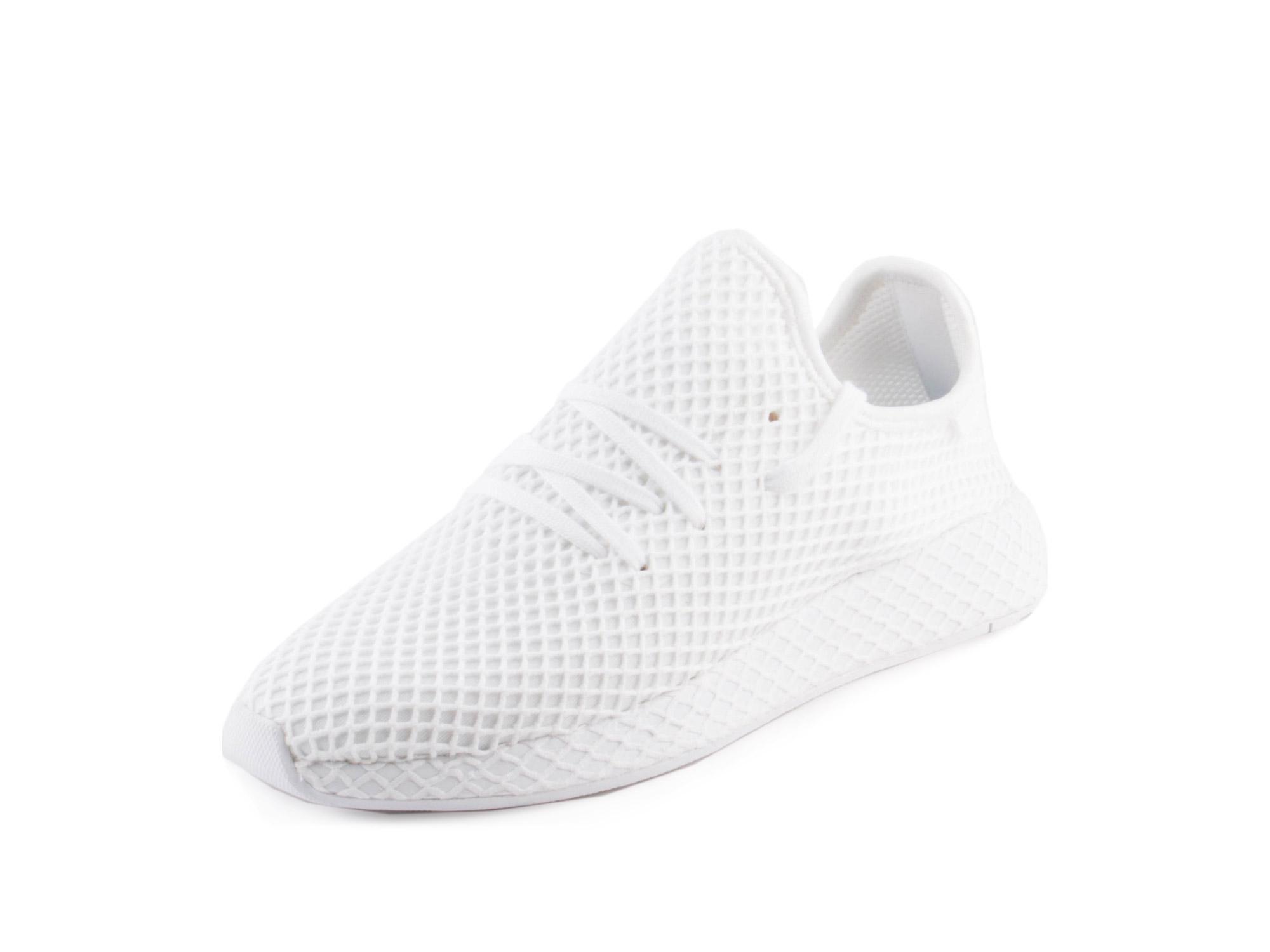 Adidas Mens Originals Deerupt Runner White White White CQ2625 by Adidas