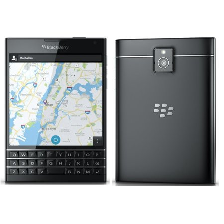 BlackBerry Passport Pre-Owned Factory Unlocked Cellphone, 32GB, Black