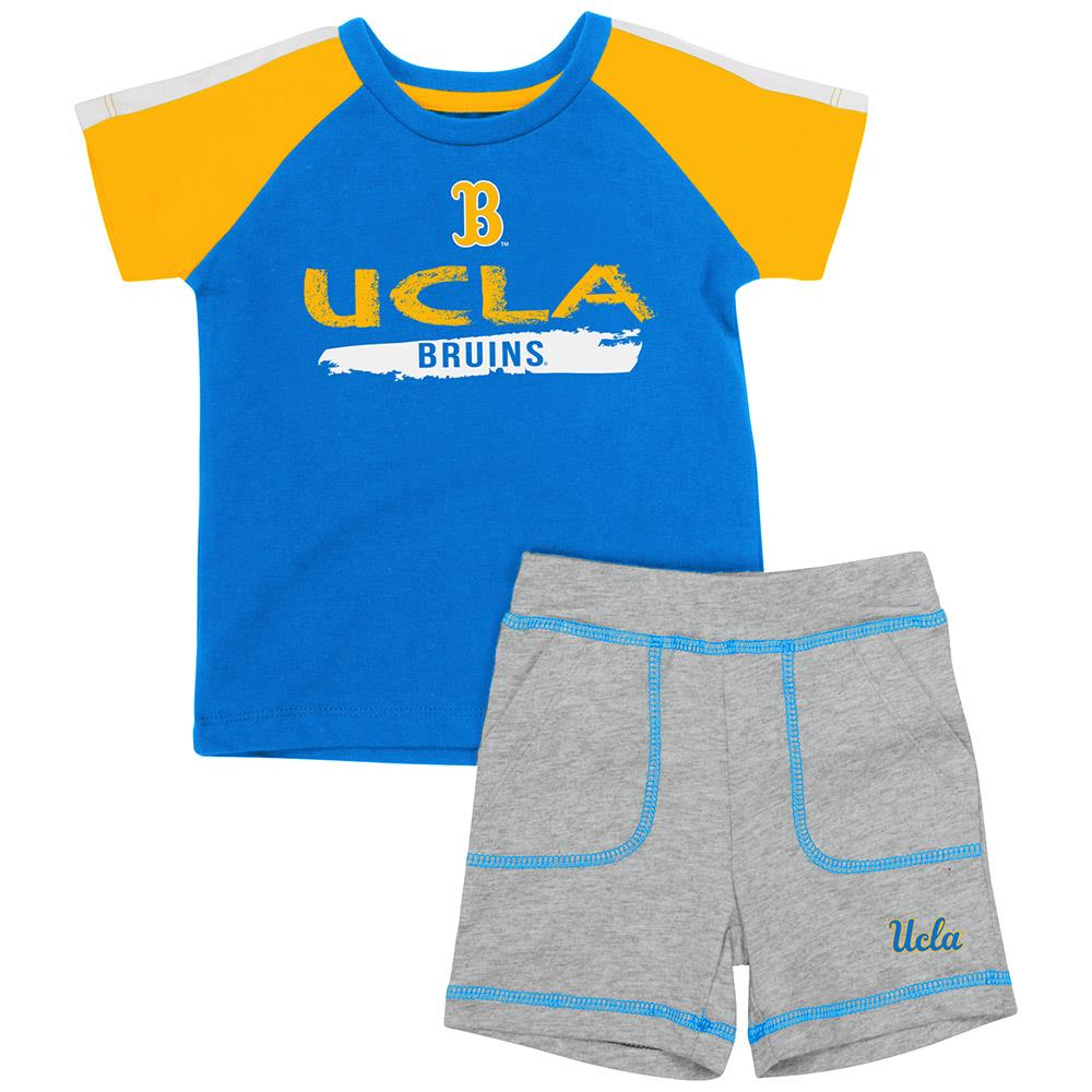 Infant UCLA Bruins Tee Shirt and Shorts Set - 3 to 6 Months