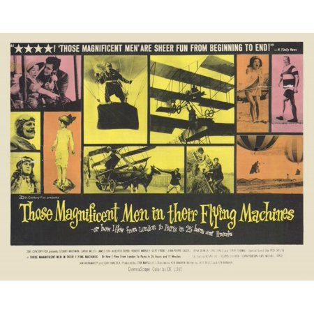 Those Magnificent Men in Their Flying Machines - movie POSTER (Style A) (11
