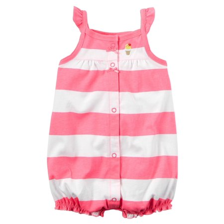 e6007ca35 Carter s - Carters Baby Clothing Outfit Girls Snap-Front Striped ...