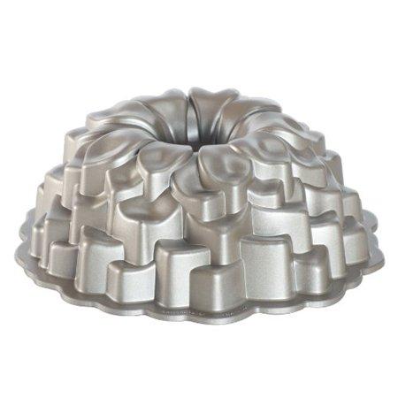 """Nordic Ware Blossom Bundt Pan 2.50 Quart 10.50"""" Length X 10.50"""" Width Bundt Pan Cast Aluminum... by"""