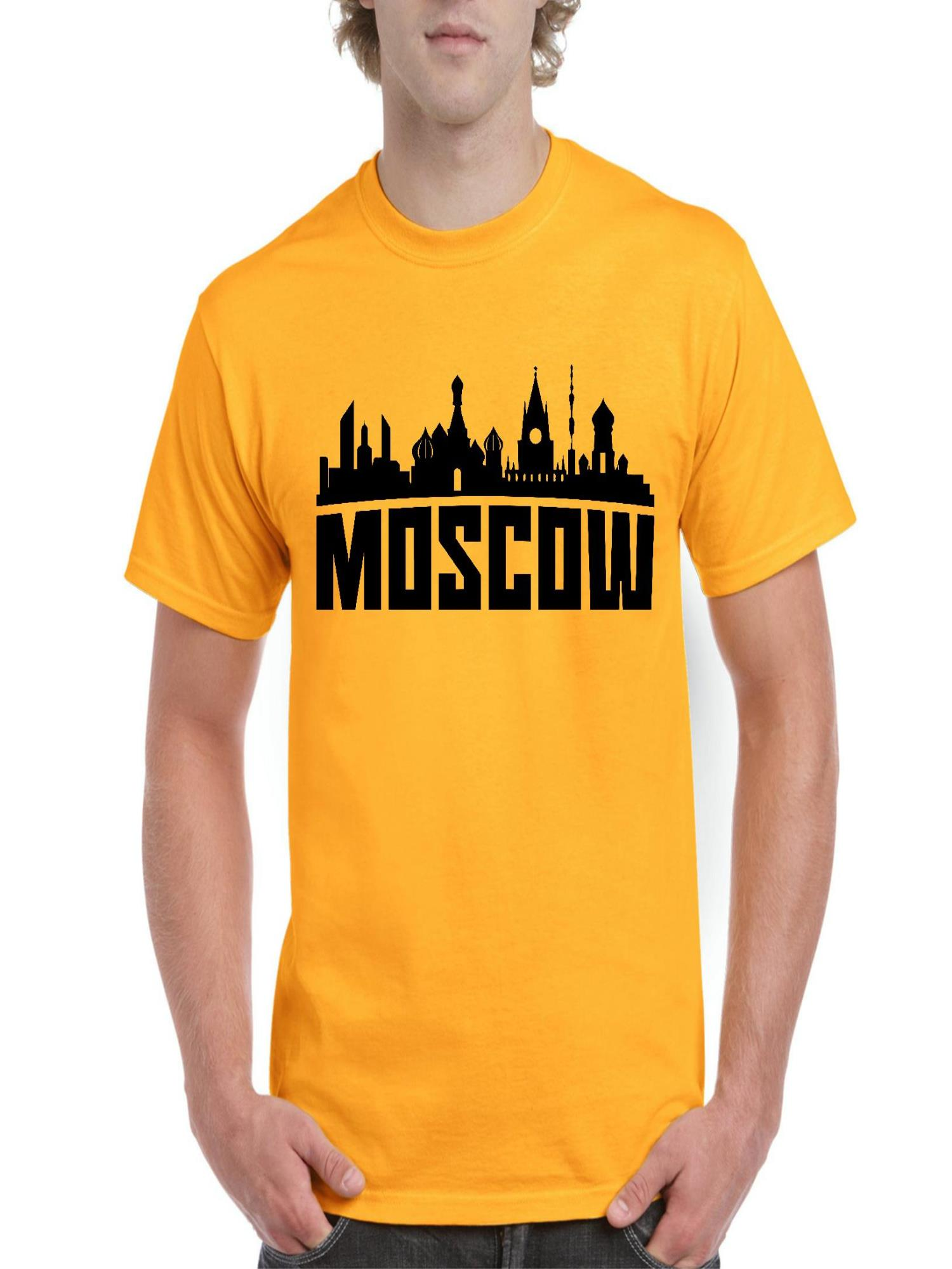 Moscow Russia Men's Short Sleeve T-Shirt