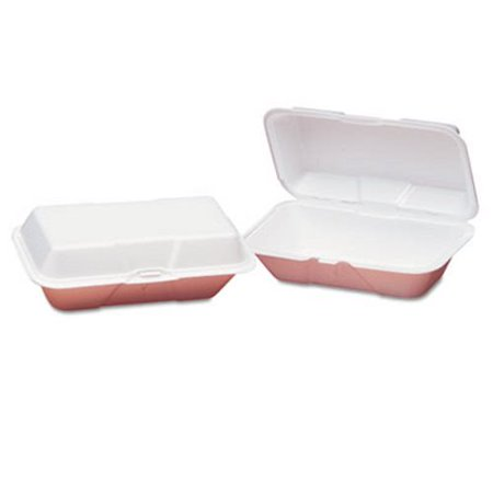 Large Hoagie Foam Hinged Containers, 200 Containers (GNP21900) ()