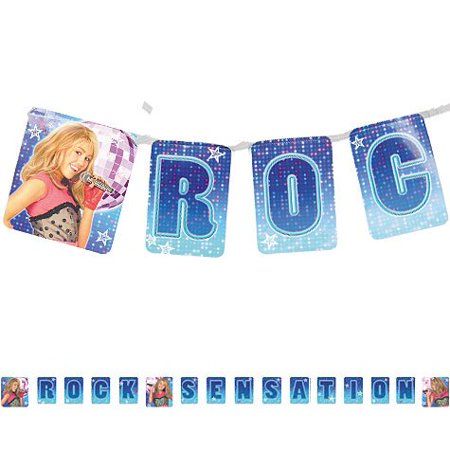 Hannah Montana Letter Banner 8ft, 1 per package By Factory Card and Party Outlet Ship from US](Party And Card Outlet)