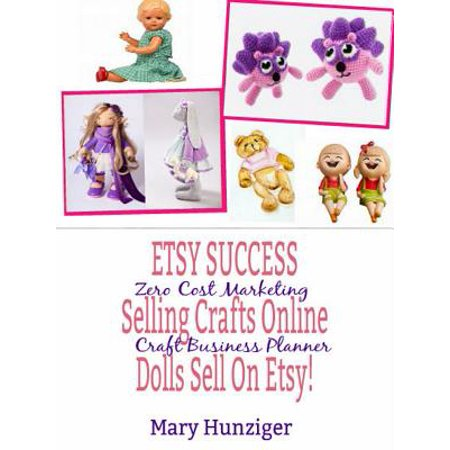 Etsy Success: Seling Crafts Online - Dolls Sell On Etsy! -