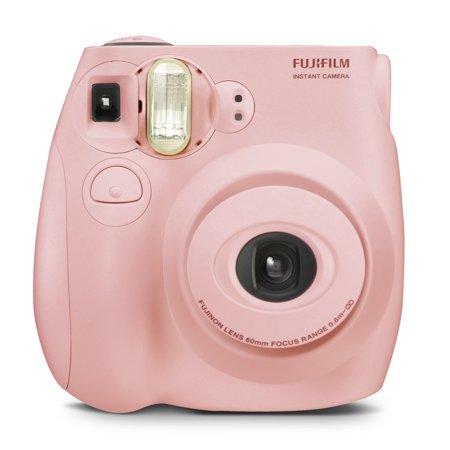 Fujifilm Instax Mini 7S Instant Camera (with 10-pack film) - Pastel Pink