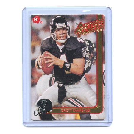 1991 Action Packed Rookie Update #21 Brett Favre Atlanta Falcons Rookie - 1992 Action Packed Card