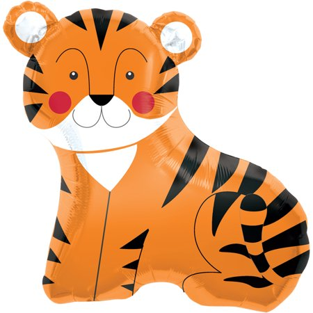 Zoo Jungle Safari Tiger Air-Fill Mini Shape 14
