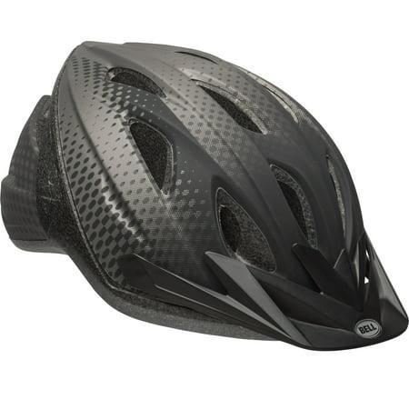 Bell Sports Surge Adult Bike Helmet, Black/Titanium Halo ()