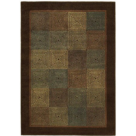 Shaw rugs origins rhythm earthen brown rug - Shaw rugs discontinued ...