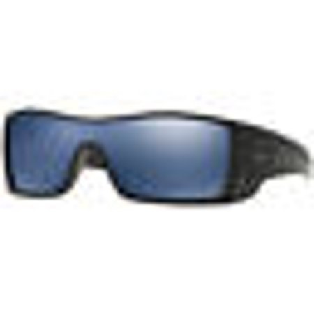 Oakley Batwolf Lunettes de soleil Matte Black Ink Ice Iridium Polarized.  UPC 700285856360 2e134c9ea742