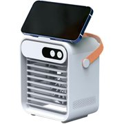 Portable Air Cooler Stand Air Conditioner Household USB Charging Small Air Conditioner Fan,Portable Mini Air Conditioner, USB Desktop Quiet Cooler for for Home,Office,Bedroom