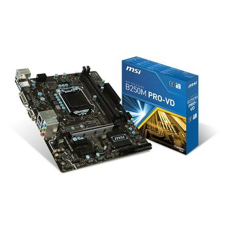 MSI Motherboard B250M PRO-VD