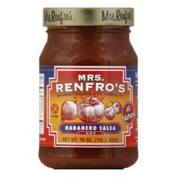 Mrs. Renfros Hot Habanero Salsa, 16 oz