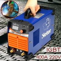 Mini MMA ARC Welder 220V 10-400A IGBT Welding Machine Solder Inverter