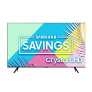"SAMSUNG 75"" Class 4K Crystal UHD (2160P) LED Smart TV with HDR UN75TU8000 2020"