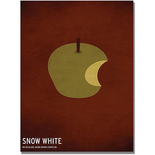 "Trademark Art ""Snow White"" Canvas Art by Christian Jackson"