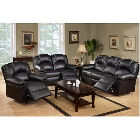Wondrous Aj Homes Studio Gail Reclining 3 Piece Living Room Set Pabps2019 Chair Design Images Pabps2019Com