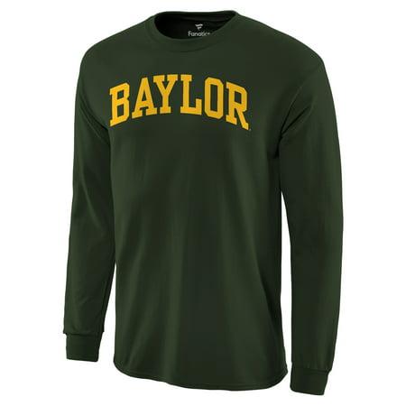 Baylor Bear Green (Baylor Bears Basic Arch Long Sleeve T-Shirt - Green )
