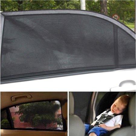 Rear Window Sun Visor - 2pack Car SUV Premium Rear Side Window Sun Visor Shade Mesh Cover Shield Sunshade UV Protector