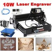 10W CNC DIY Desktop USB Laser Engraver Marking Engraving Machine For Metal Stone Wood Printer Cutter
