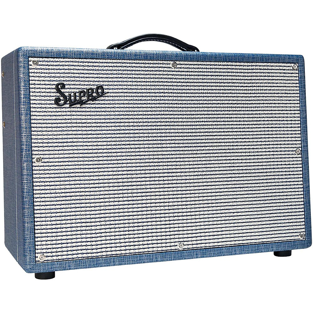 Supro 1624T Dual-Tone 24W 1x12 Tube Guitar Combo Amp Level 2 Regular 190839155825 by Supro