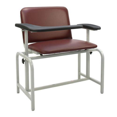 Winco Manufacturing Extra Large Blood Drawing Chair
