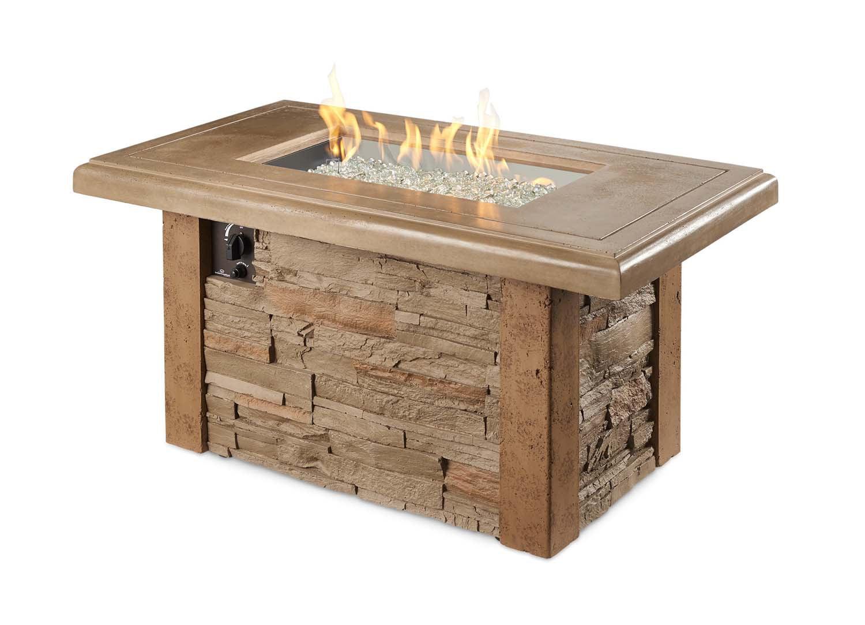 Outdoor GreatRoom Company SL-1224-M Sierra Firepit Table by The Outdoor GreatRoom Company
