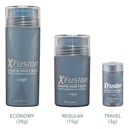 XFusion Keratin Hair Fibers 28 g / 0.98 oz - MEDIUM (Xfusion Fiber)