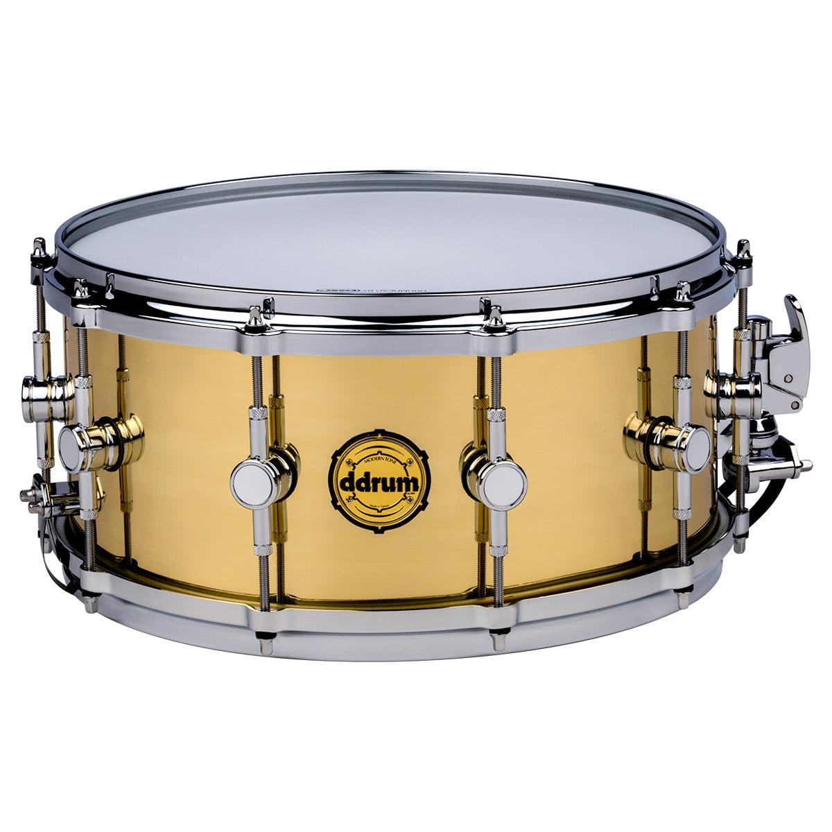 ddrum Modern Tone 6.5x14 Brass Snare Drum