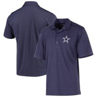 Men's Navy Dallas Cowboys Castle Striped Polo