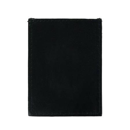 CTM Men's Leather Money Clip Wallet - image 2 de 4