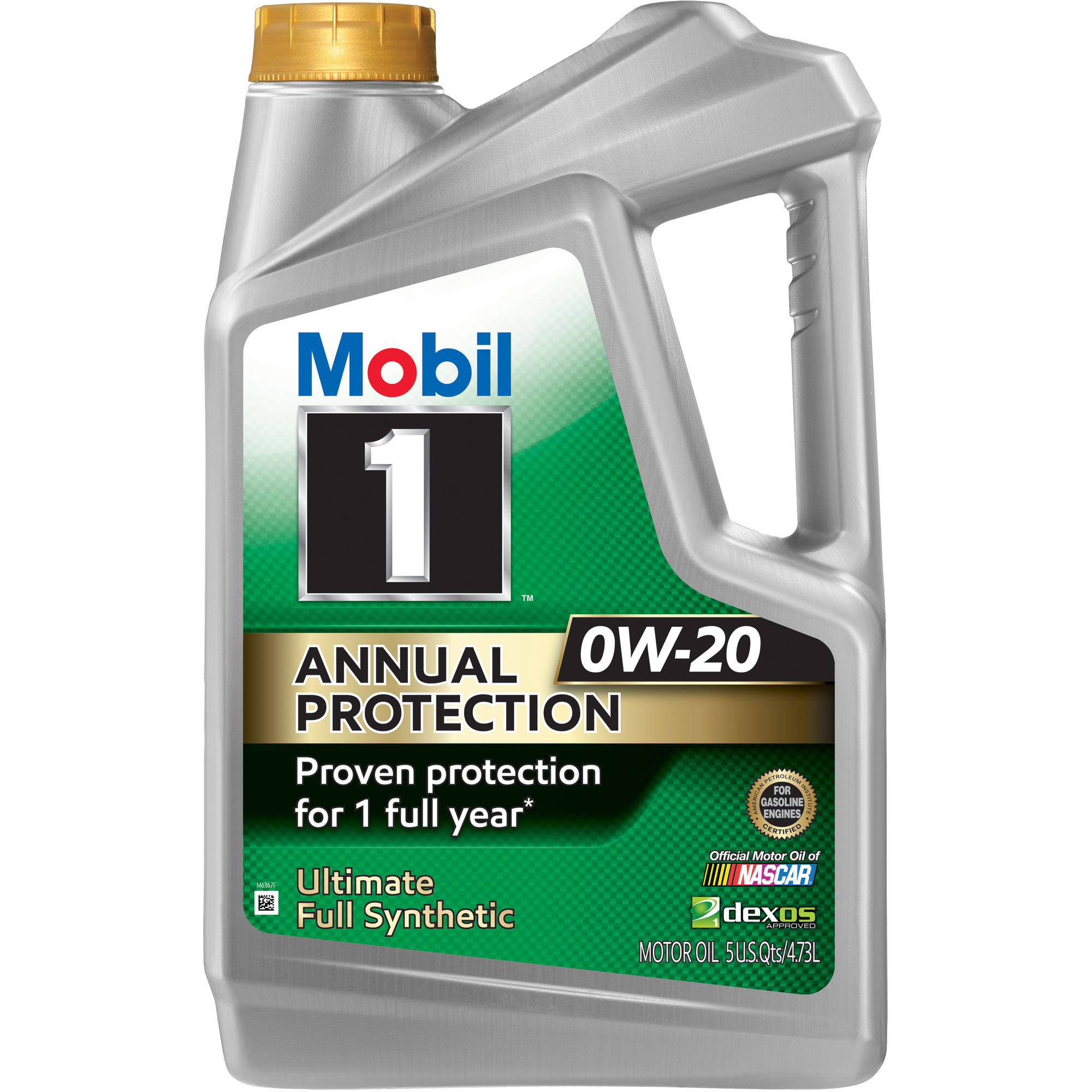 Mobil 1 Annual Protection 0W20, 5 qt