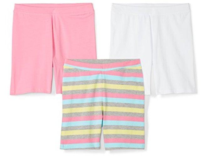 Spotted Zebra Girls 3-Pack Bike Shorts Pack of 3