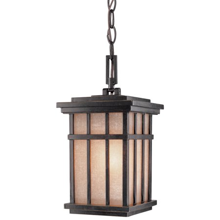 Pendant Mission Dust - Dolan Designs 9143 Craftsman / Mission 1-Light Outdoor Pendant from the Freeport Collection