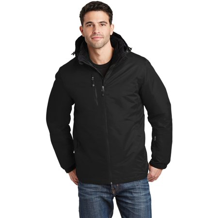 Port Authority Men's Vortex Waterproof 3-in-1 (North Face Mens Vortex Triclimate Jacket)