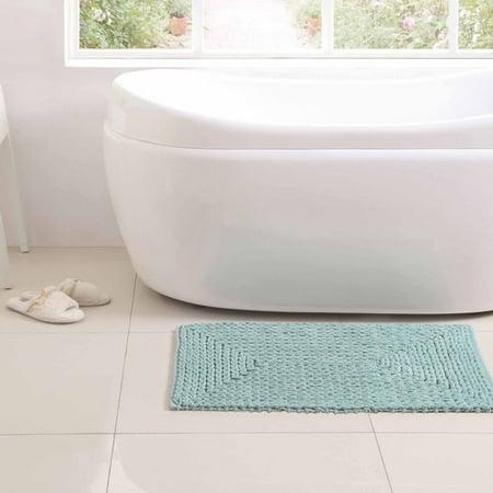 - VCNY Home Barron Cotton Chenille Bath Rug, 1'8