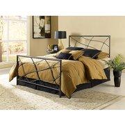 Sonata King Bed, Speckled Sesame