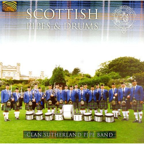 Scottish Pipes & Drums (W/Book)